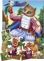 """Пазлы 24 """"Кот в сапогах"""" в кор."""