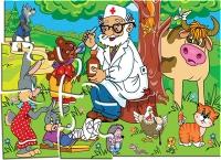 """Пазлы 24 """"Доктор Айболит"""" в кор."""