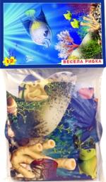 """Пазлы 12 """"Веселая рыбка"""" в пакет"""